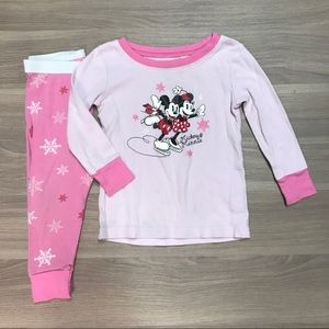 Other - 💫5 for $19💫 Mickey & Minnie Toddler Pajamas